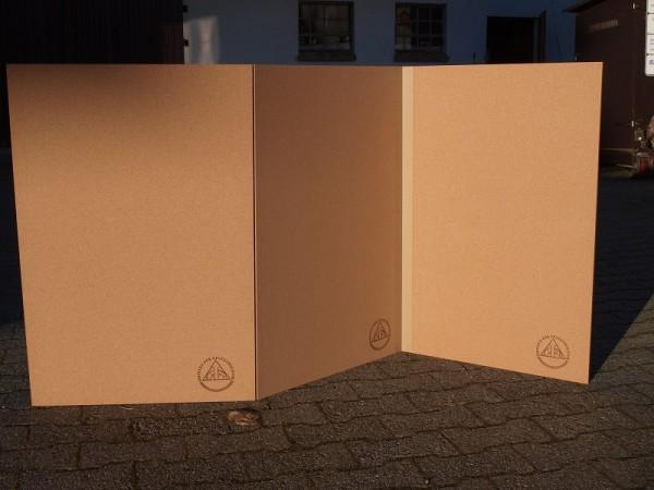 Kopschinakorkmatte 3-teilig ca. 180x90x1cm